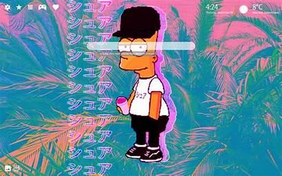 Bart Simpson Supreme Wallpapers Simpsons Theme Homer