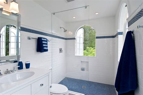 san francisco shower accent tile bathroom traditional with