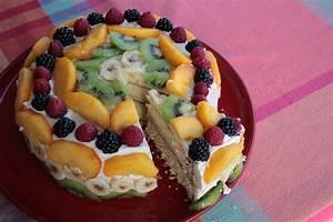 Gateau D Anniversaire : g teau d 39 anniversaire aux fruits sans gluten mes petits ~ Melissatoandfro.com Idées de Décoration