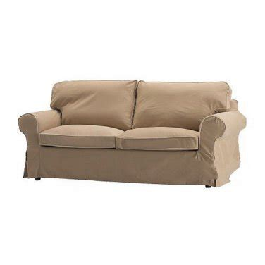 ikea ektorp sofa bed slipcover cover idemo beige sofabed