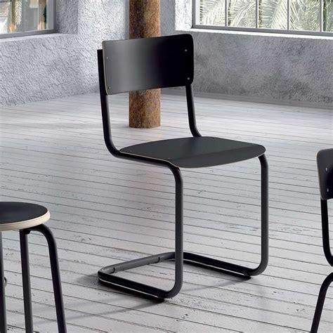 Chaise Retro Metal chaise r 233 tro en bois et m 233 tal vintage 4 pieds
