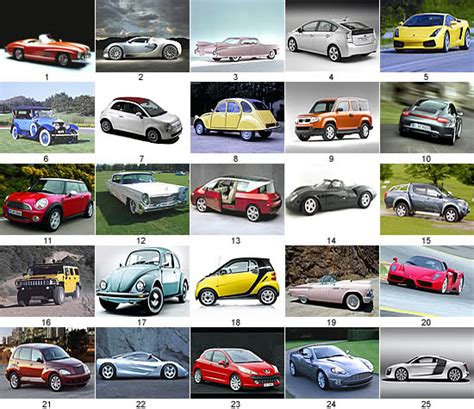 Cars *pictures* Quiz