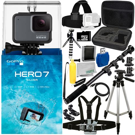 gopro hero hero silver pc accessory bundle includes