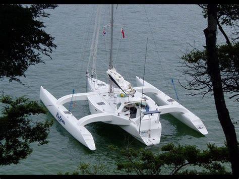 Trimaran Kurt Hughes by Trimaran Kurt Hughes 434037 002 Trimaran Sailing