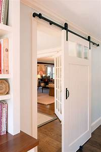 arched barn door kitchen traditional with sliding black With barn doors for arched doorways