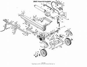 Dr Power Wh1 Vertical  Horizontal Log Splitter Ser