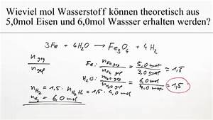 Umsatz Berechnen Chemie : reduktion von wasser berechnung bungsvideo chemie online lernen ~ Themetempest.com Abrechnung