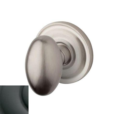 shop baldwin estate egg oil rubbed bronze privacy door