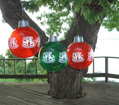 places that sell big christmas lutside balls sale decoration large outdoor ornament pool