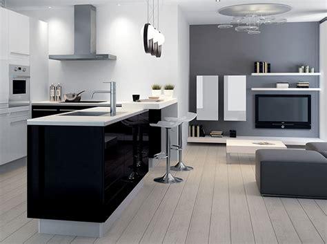 cuisine deux couleurs mettez de la couleur en cuisine décoration
