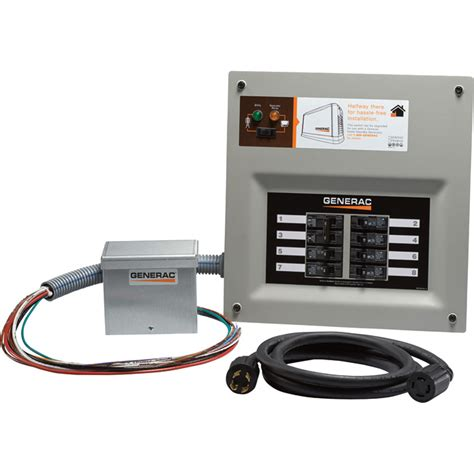 shipping generac homelink prewired manual transfer