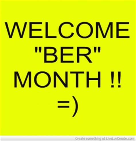 Ber Months Quotes Images