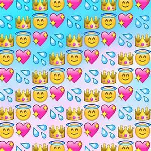 Cute Angel Background Emoji