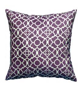 Purple Decorative Throw Pillows for Couch