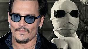 Johnny Depp To Star As The Invisible Man - YouTube