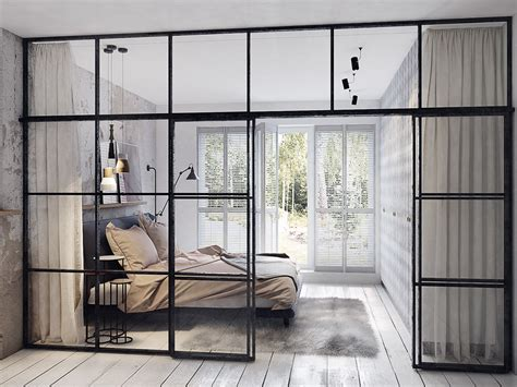 home interior window design concrete finish studio apartments ideas inspiration