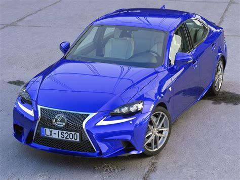 3d Model Lexus Is F-sport 2016