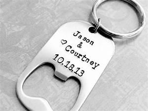 personalized bottle opener keychain gift wedding favor gift With personalized bottle opener keychain wedding favors