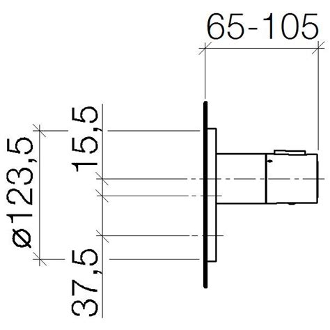 dornbracht tara montageanleitung dornbracht xtool up thermostat o mengenregulierung 36416979 00 megabad
