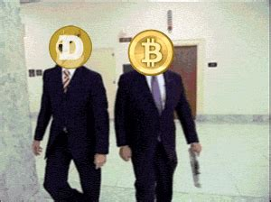 Gold is easier to convert into cash gold has the same value all over the world. Dogecoin VS Bitcoin en une image et quelques mots - CanardCoinCoin