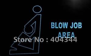 LB746 Blow Job Area Funny Cartoon NEW Neon Light Sign home