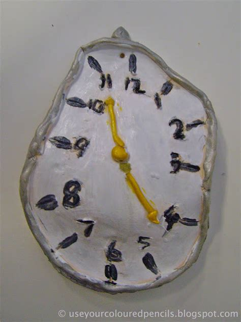 dali melting clocks fun family crafts