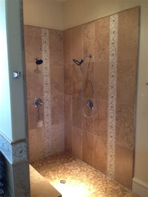 5x7 walk in shower   Farmhouse   Bathroom   Dallas   by