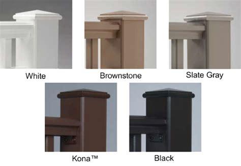 azek decking color options decking shagbark lumber farm supply