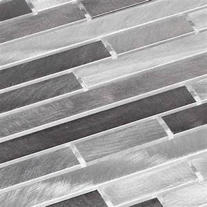 Mosaik Fliesen Frostsicher : aluminium metall mosaik fliesen metallmosaik st bchen geb rstet grau silber ebay ~ Eleganceandgraceweddings.com Haus und Dekorationen