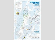Winter Map Kingdom Trails Association