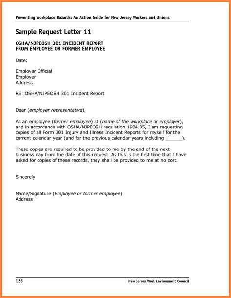 incident report sample marital settlements information
