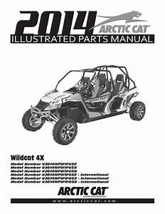 Arctic Cat 2014 Wildcat 4x Part Manual Pdf Download