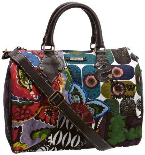 desigual womens carry  ls everyday handbag bags