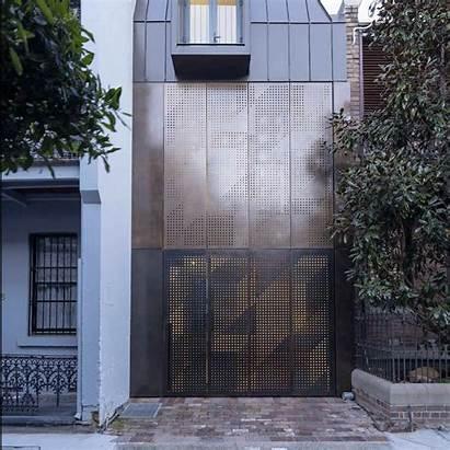 Facade Bronze Dau Atelier Chimney Kinetic Extension