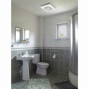 Nutone invent series 110 cfm ceiling exhaust bath fan with for How many cfm for bathroom fan