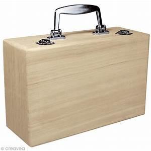 Valise En Bois : valise en bois d corer 25 cm objets divers d corer creavea ~ Teatrodelosmanantiales.com Idées de Décoration