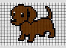 Pixel Art Puppy Easy Draw 9