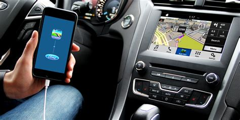 ford sync 3 navigation sync 3 can now link with phone navigation ford authority