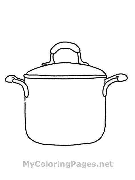 cooking utensils coloring sheets coloring pages