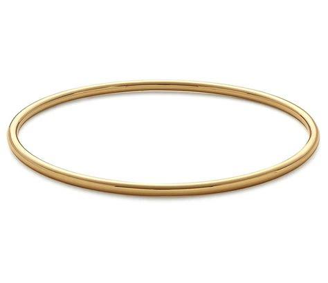 gold bracelet 14k bangle bracelet in 14k yellow gold blue nile