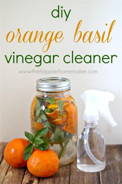 Kitchen Hacks Orange by Orange Basil Vinegar Cleaner Artsy And Crafty Vinegar