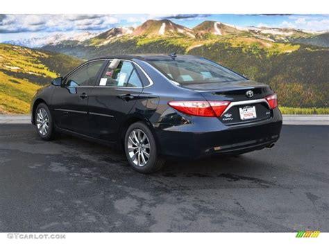2016 Midnight Black Metallic Toyota Camry Xle #106479074