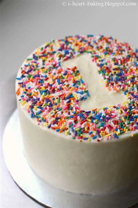 heart baking rainbow sprinkle  birthday smash cake