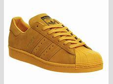 Adidas Superstar 80s City Pack Yellow Shanghai Unisex Sports