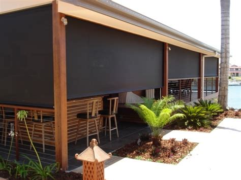 Outdoor Shades For Patio by Sunshade Outdoor Blinds Aussie Pergolas