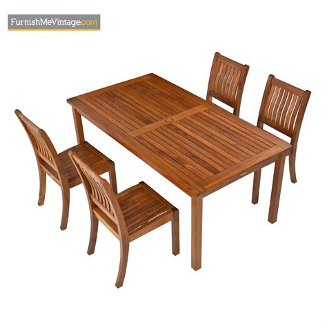 restoration hardware solid teak outdoor dining table