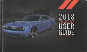 2018 Dodge Challenger User Guide Owner U0026 39 S Manual Original