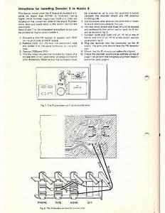Tandberg Installation Instructions For Stereo