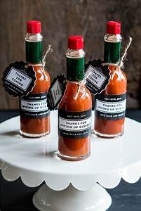 wedding favor friday homemade hot sauce wedding inspiration With hot sauce wedding favors