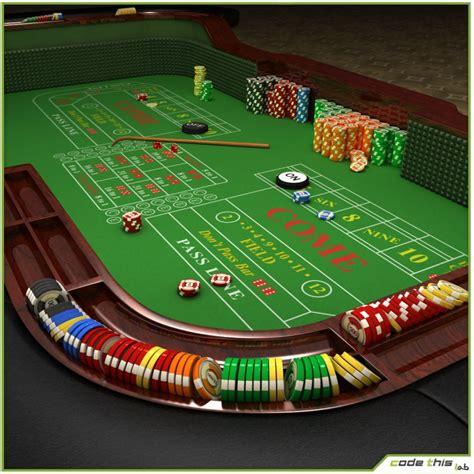 table casino craps table  model cgstudio